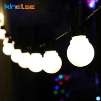 Christmas LED Globe String Light 13m G50 LED Filament Bulb Festoon Outdoor Waterproof Garland Wedding Garden Party Decor EU 220V