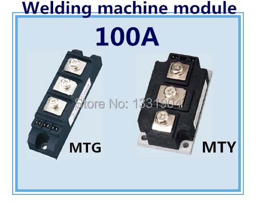 все цены на New brand Thyristor Module MTG MTY 100A welding joint scr module silicon control module used for welding machine онлайн