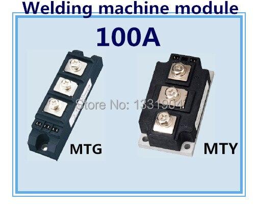 Nouveau Module de Thyristor de marque MTG MTY 100A module de contrôle de silicium de module de scr de joint de soudure utilisé pour la machine de soudure