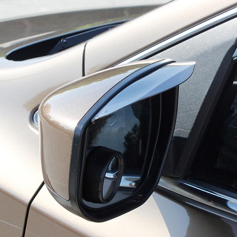 Auto Mirror Rain Shield Shade Cover Protector For Ford Focus 2 1 Fiesta Mondeo 4 3 Transit Fusion Kuga Ranger Mustang KA S-max