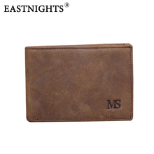 Crazy horse Genuine Leather Mini Men Wallets Vintage Design Purse Men Brand Card holder Wallet Leather carteira masculina TW1631 contact s men wallets top genuine cow leather vintage design purse men brand famous card holder mens wallet carteira masculina