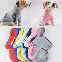 TINGHAO Pet Hoodie Coat Dog Jacket Winter Clothes Puppy Cat Sweater Clothing Apparel