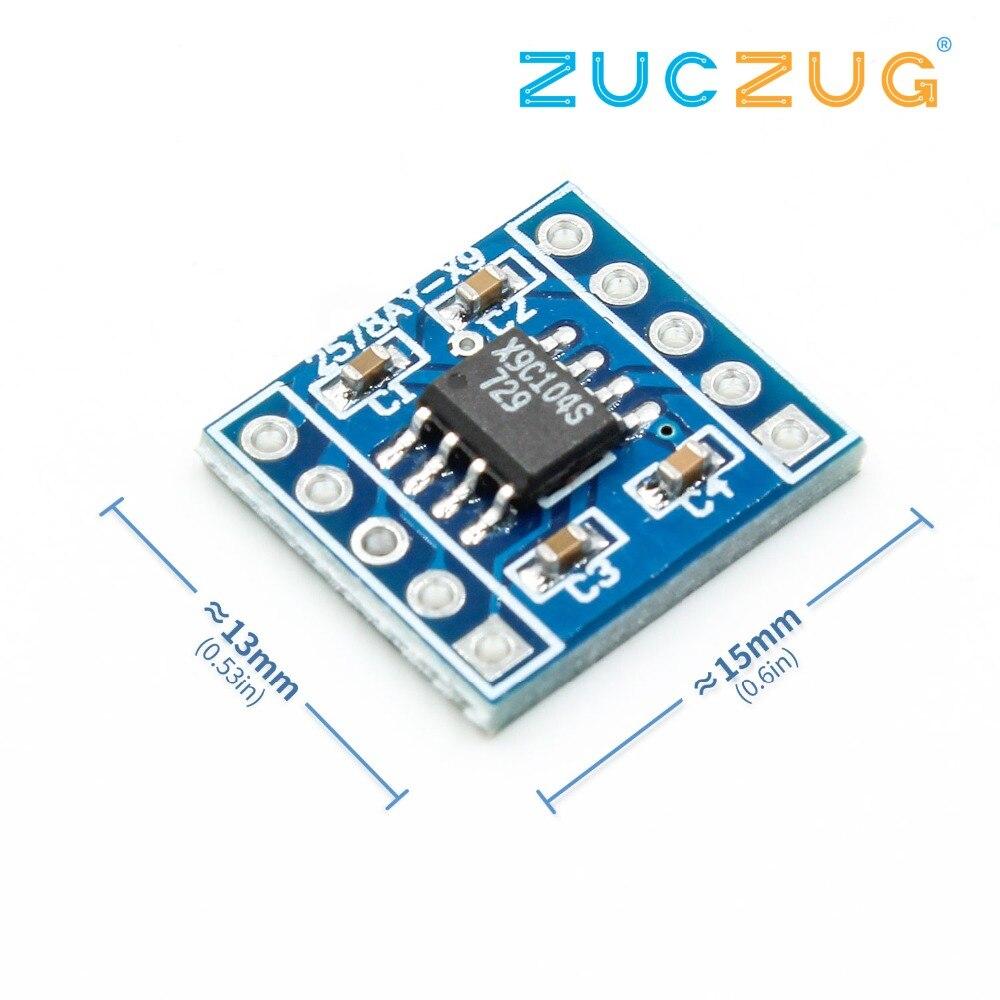 X9C104//X9C103S Digital Potentiometer Module 100 Potentiometer Adjust the Balance