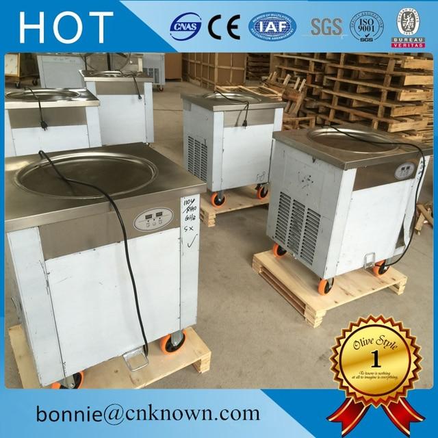 Hot sale R410a refrigerant thailnad fried ice cream roller ...