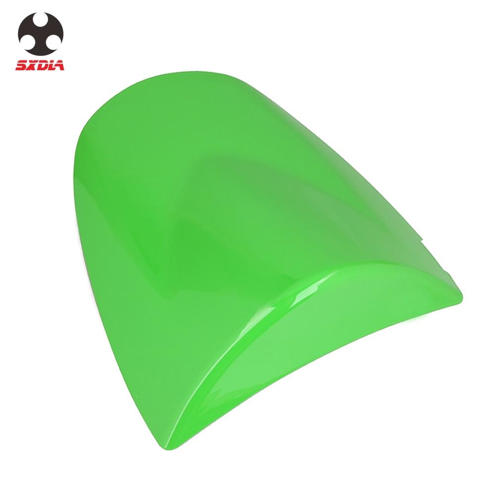 Green JFG RACING Motorcycle Rear Seat Cowl Passenger Pillion Fairing Tail Cover For Kawasaki 2003-2004 ZX6R,2003-2006 Z1000,2003-2006 Z750