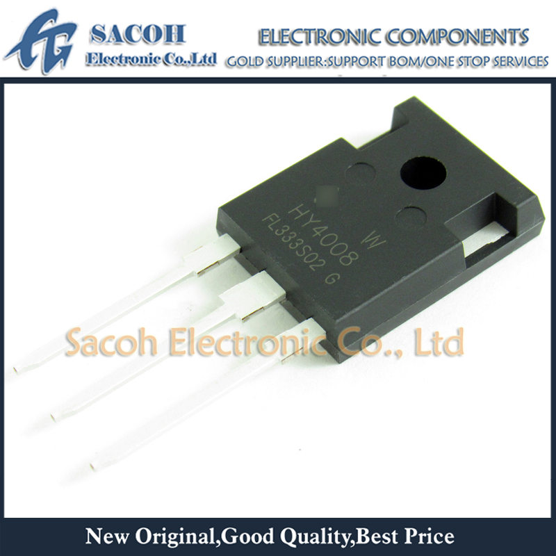 Free Shipping 10Pcs HY4008 HY4008W 4008 TO-247 200A 80V 2.9Mohm Power MOSFET Transistor