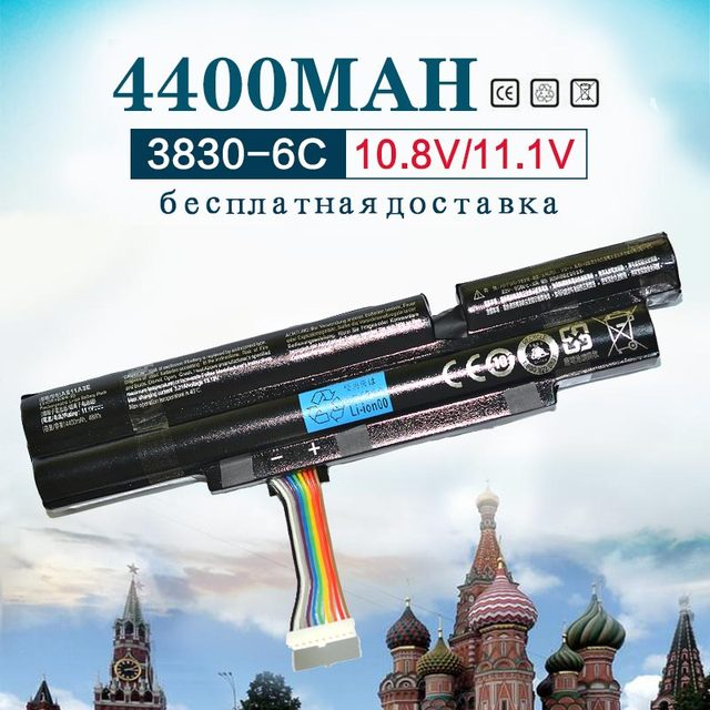 4400mah 6Cells Laptop Battery For Acer Aspire TimelineX 3INR18/65 2 AS11A3E AS11A5E  4830TG 5830T 3830TG 4830T 5830TG 3830T