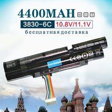 Аккумулятор для ноутбука Acer Aspire, 4400 мАч, 6 ячеек, для Acer Aspire TimelineX 3INR18/65 2 AS11A3E AS11A5E 4830TG 5830T 3830TG 4830T 5830TG 3830T