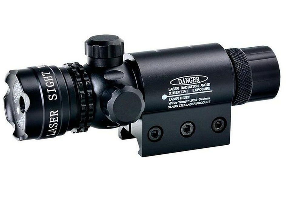 Green//Red Dot Laser Sight/&Remote Switch //QD Offest Scope Mounts For Rifle Sope
