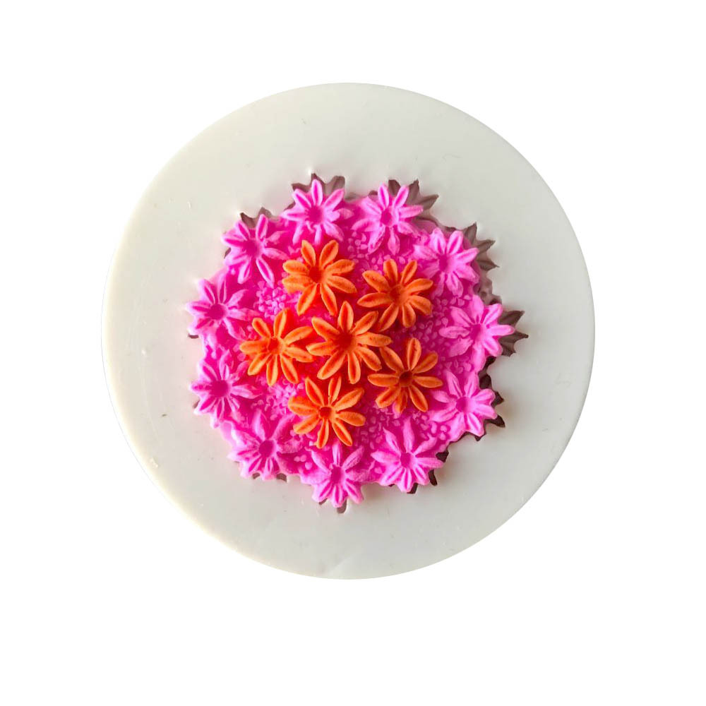 Sugarcraft Flower Fondant Cupcake Decorating Molds Cake Silicone Mold Sugarpaste Candy Chocolate Gumpaste Clay Mould