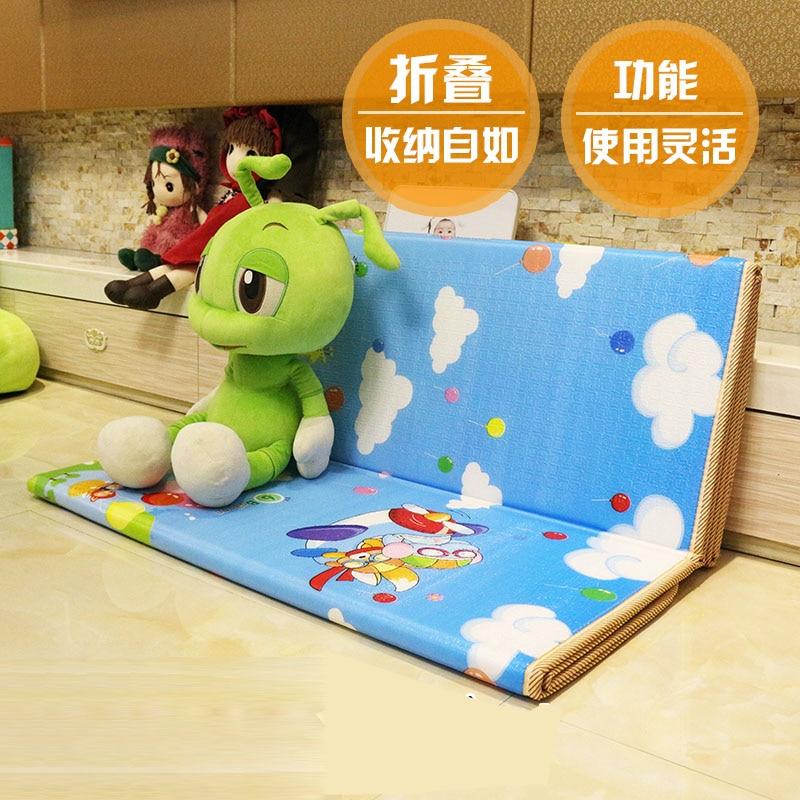 Tapis rampant bébé jeu d'activité tapis de jeu épaissir XPE pliant antidérapant étanche à l'humidité maison bébé Gym tapis rampant tapis de jeu magique