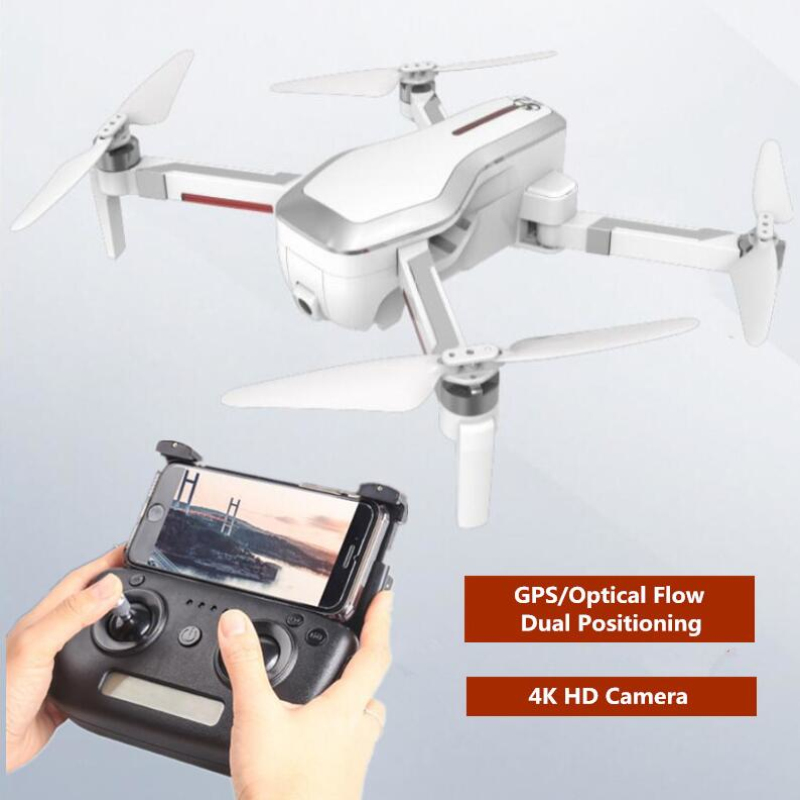 Professional GPS Auto Follow Me 5G WIFI FPV Brushless Selfie Foldable GPS Optical Flow Dual Positioning 4K Ultra HD RC Drones