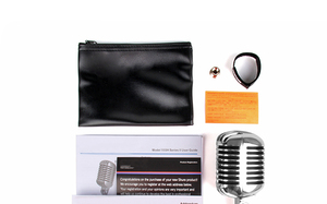 Image 5 - 55SH Retro Mic Professional Ribbon Microphone Sliver Rose Golden 55 sh II Classic Vintage Style Recording Studio Microphone