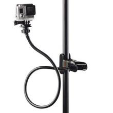 Hàm Flex Kẹp Arm cho GoPro Hero 5 4 3 Eken Cổ Ngỗng Tripod Núi Cổ Clip Bao Tử Cho Go Pro SJ4000 Xiaomi Yi 4 K phụ kiện