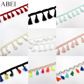 5yards/lot Rainbow Tassel Lace Ribbon 1