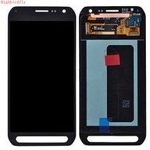 Highbirdfly Untuk Samsung Galaxy S6 Aktif G890F G890 G890A Lcd Screen Display + Sentuh Kaca DIgitizer Majelis Perbaikan telepon Amoled