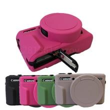 Хорошая мягкая силиконовая резиновая легкая камера видео сумка для CANON G7XII G7X-II G7X2 камера чехол Защитный чехол для тела