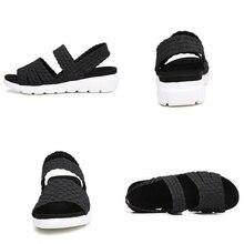 Women's Flat Woven Wedge Sandals