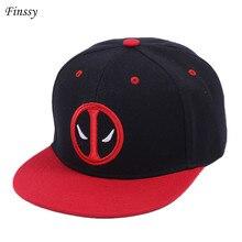 Nueva moda de Deadpool gorra de Hip Hop verano sombrero gorra de béisbol  para hombres y mujeres Gorras casuales hueso envío grat. d163b79077f