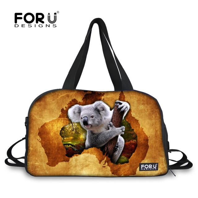fb12e55bafc FORUDESIGNS Canvas Sport Bag Traning Yoga Bag for Female Men Fitness Large  Capacity Independent Shoes Storage