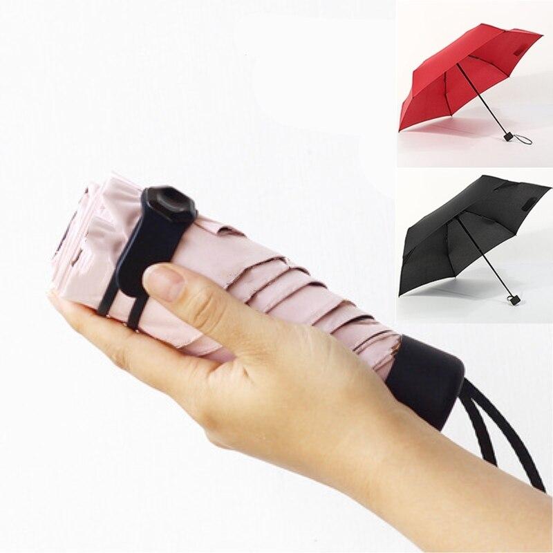 Light Compact Mini Folding Umbrella Small Portable Travel Pocket UV Windproof