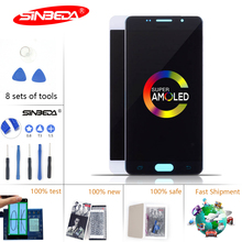 5.2 Super AMOLED LCD For SAMSUNG Galaxy  A5 2016 A510 A510F Touch Screen Panel Digitizer for LCD*