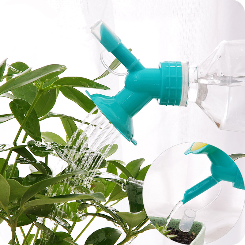 Creative garden tools plastic nozzle watering bottle family potted shower nozzle gardening tools gardening tools to plant potted dedicated
