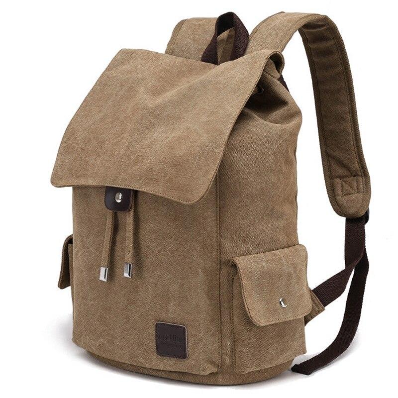 5b73f6ca08fa Новый дугообразная shouider ремень молнии Твердые Сумка Мужской рюкзак  школьный портфель холщовый мешок дизайнер рюкзаки для мужчин