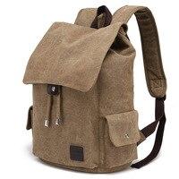 New arcuate shouider strap zipper solid bag male backpack school bag canvas bag designer backpacks for men