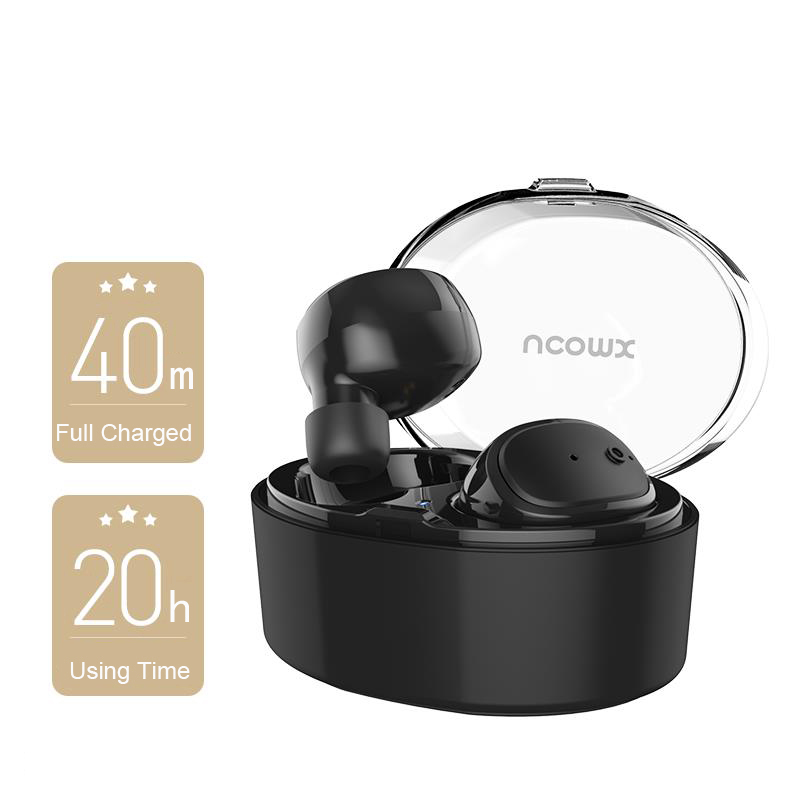 Dacom Bluetooth Earphone Mini Wireless Stereo Headset TWS Ture Wireless Earbuds + Charging BOX for iPhone 7 7Plus AirPods xiaomi remax 2 in1 mini bluetooth 4 0 headphones usb car charger dock wireless car headset bluetooth earphone for iphone 7 6s android