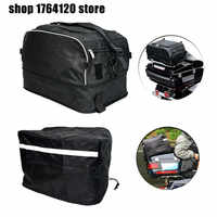 Motorcycle Collapsible Luggage Rack Bag with Waterproof bag Fit For Harley Touring Road King FLHR Street Road Glide 1994-2019
