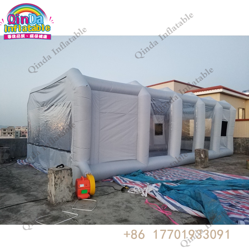 finest selection 2510f 5c501 US $832.17 15% OFF|600D oxford+pvc inflatable spray booth,portable spray  booth for car paint soundproof booth-in Inflatable Bouncers from Toys & ...
