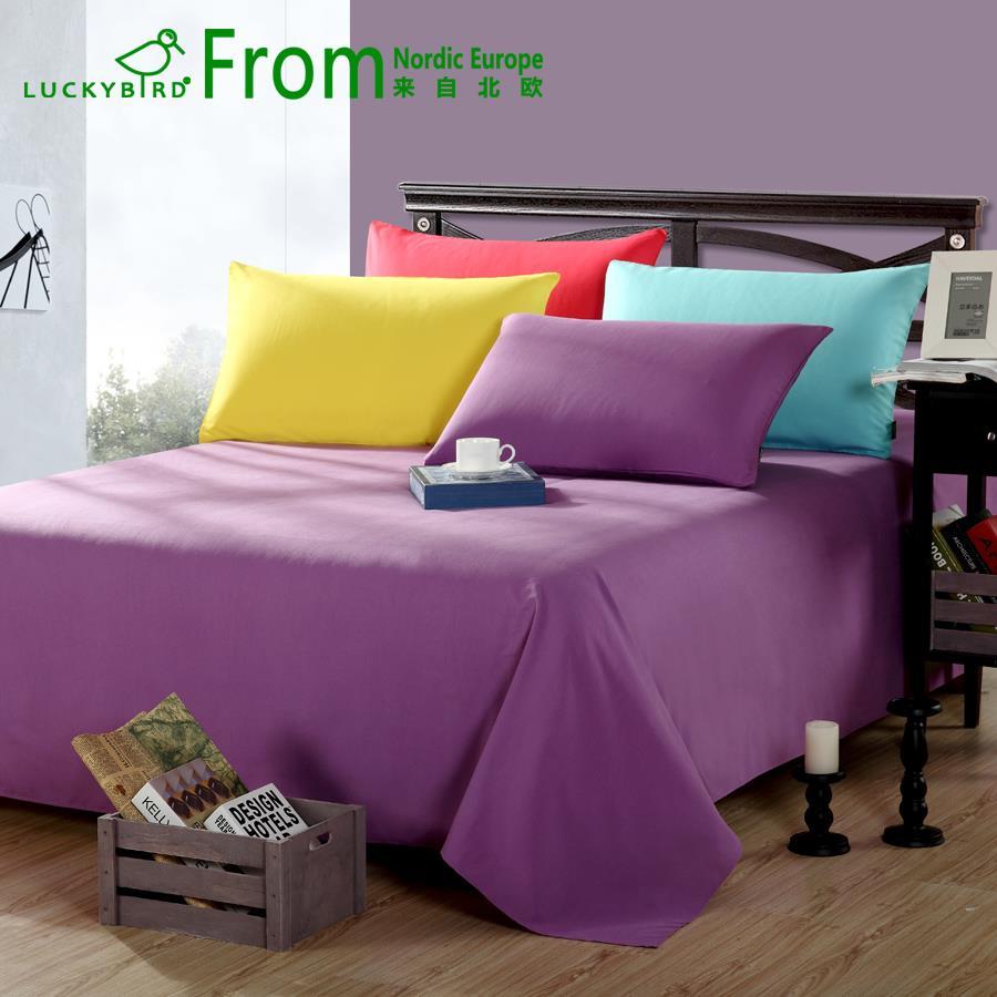 pure flat sheet bedding flat bedsheet bed linen bedclothes. Black Bedroom Furniture Sets. Home Design Ideas