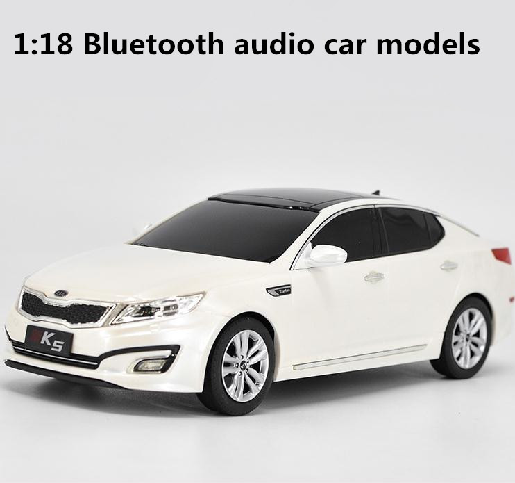 1:18 advanced car model toys, high simulation KIA K5 Bluetooth Car Audio, exquisite collection model,free shipping high simulation 1 18 advanced alloy car model volkswagen golf gti 1983 metal castings collection toy vehicles free shipping