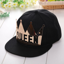 2017 Women Men Dad Hat Snapback Caps Summer Black Basic Baseball Caps Female Male King Queen Hip Pop Style Hats Bone Masculino