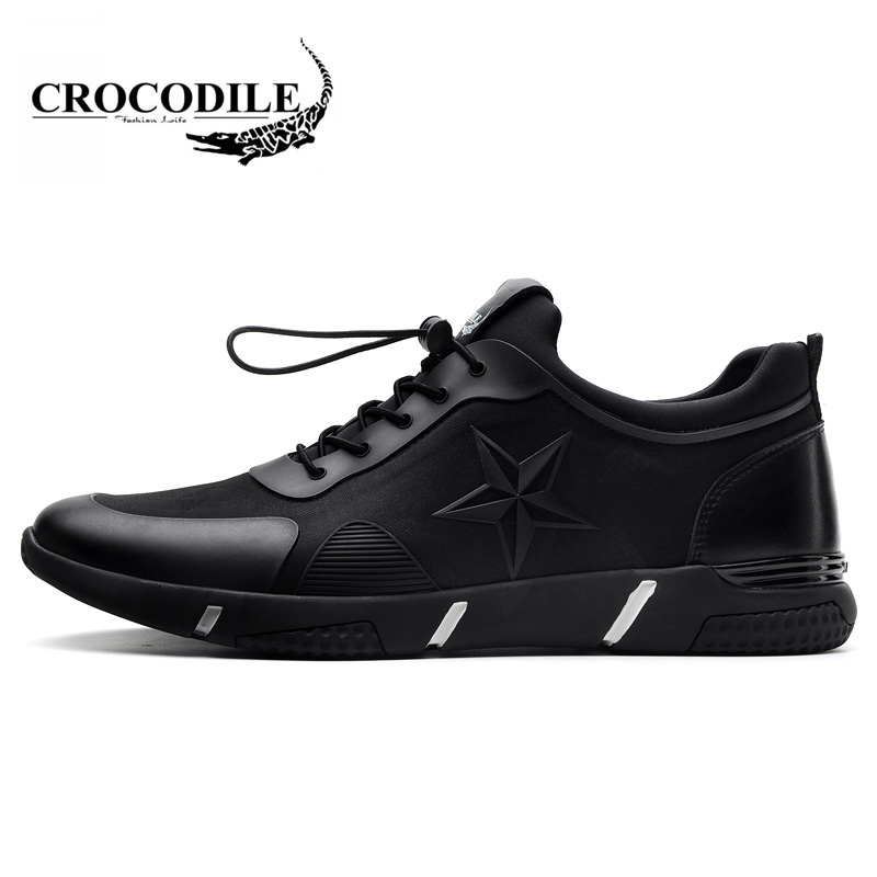 Крокодил Для мужчин 2018 новые весенние мужские кроссовки дышащие вентиляции кроссовки с ...