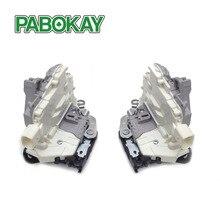 FS Front Pair Left/Right Door Latch Lock Actuator Mechanism for Seat Altea Leon VW 1P1837015A 1P1837016A 1P1837015 1P1837016