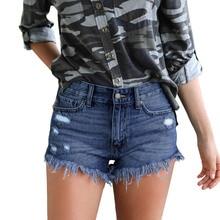Plus Size 2XL Womens Sexy Jeans Shorts Summer Booty Mini Denim Short 2019 Fashion Ladies Casual Jean Black