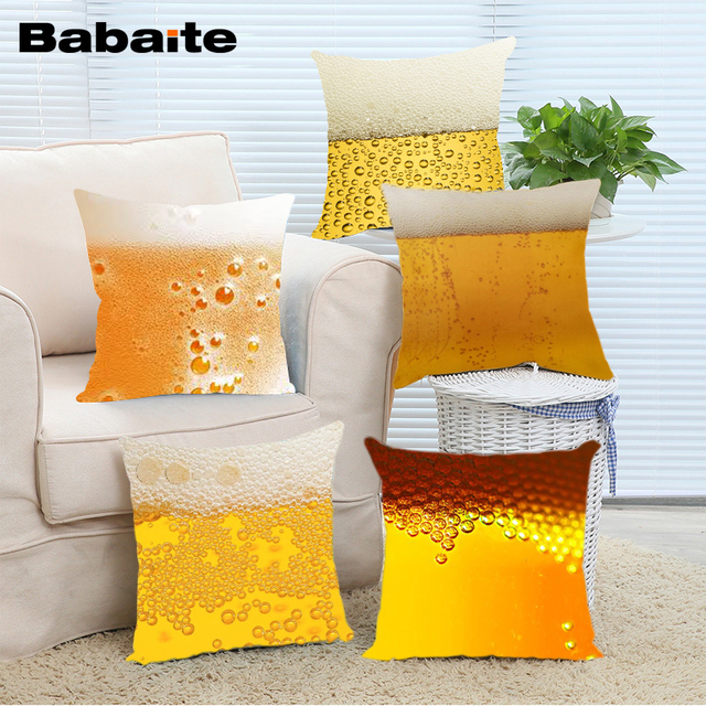 24x24 throw pillow blue euro babaite bottle of beer bubbles drink throw pillow cases for 14x14 16x16 18x18 20x20 24x24