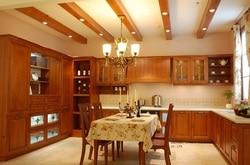 Drewniane europejski styl szafki kuchenne (LH-SW053)