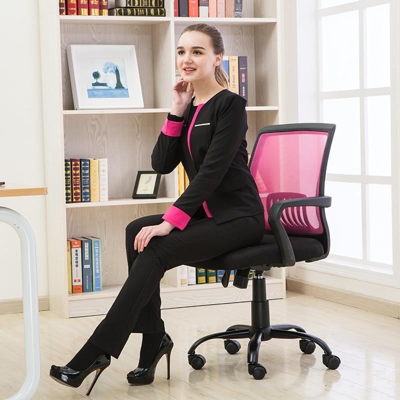 Ergonomic Staff Office Chair Swivel Home Computer Chair Mesh Cloth Adjustable Bureaustoel Ergonomisch Sedie Ufficio Cadeira