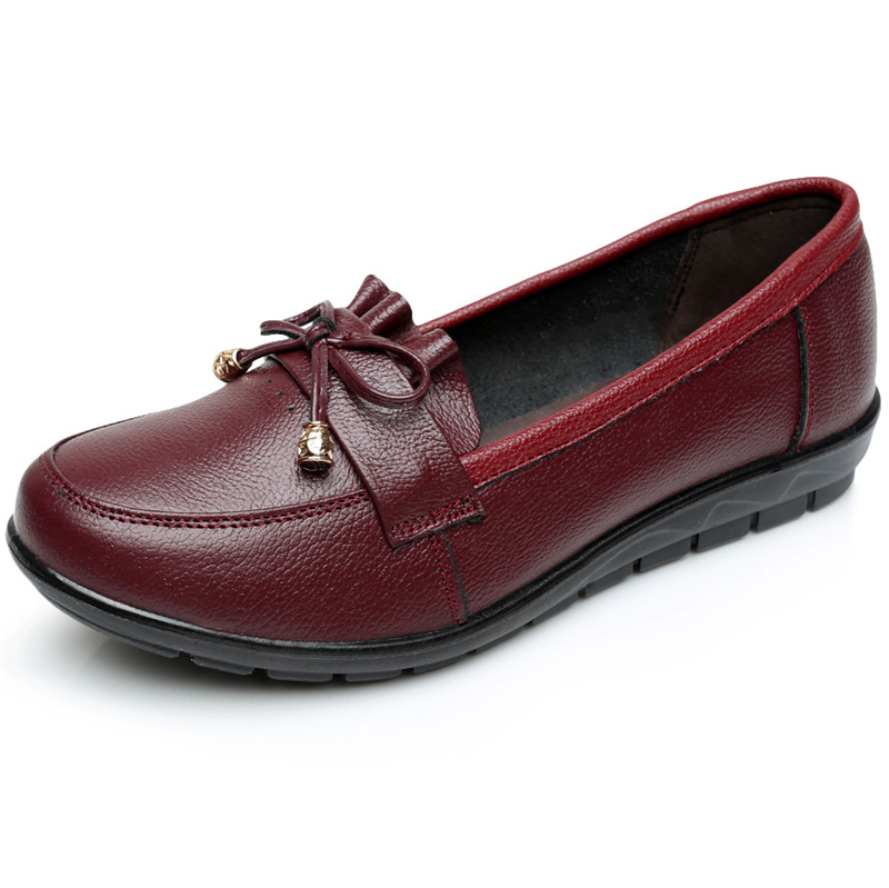 Casual Loafers Driving Flats Summer Style Boat Shoes Woman Breathable Female Fashion Leather Nurses Working Gladiator Flats Shoe muhuisen brand new fashion summer spring men driving shoes loafers real leather boat shoes breathable male casual flats loafers
