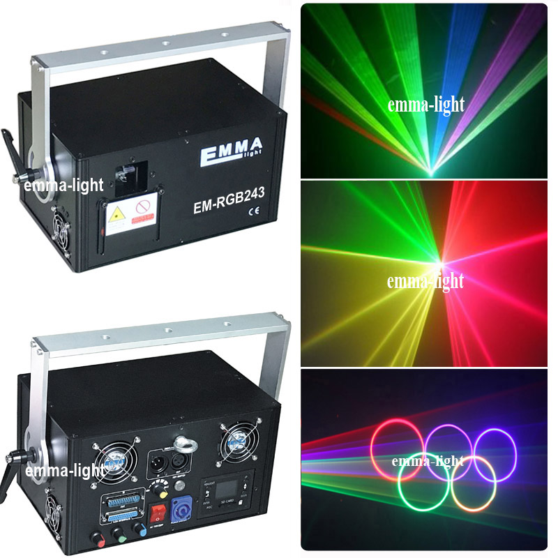 2w Rgb Laser Beam And Animation dmx parties Light/chrismas Mini Stage Laser Projector Pure Whiteness