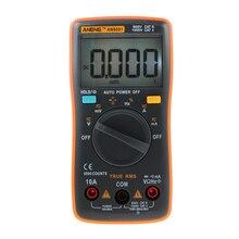 Digital Multimeter 6000 counts Backlight AC/DC Ammeter Voltmeter Ohm Portable Meter voltage meter