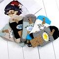 5 pairs Spring Autumn  Sole Child Baby Suitable Cute Socks Fashion Boys Girls Kids Star Print Sock