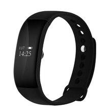 V66 сердечного ритма Смарт часы-браслет сердечного ритма Мониторы SmartBand анти-потерянный Беспроводной Фитнес трекер Браслет для iOS и Android