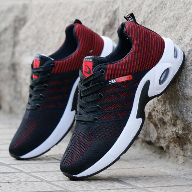 Erkekler rahat ayakkabılar Nefes Moda Sneakers erkek ayakkabıları Tenis Masculino Ayakkabıları Zapatos Hombre Sapatos Açık Ayakkabı Markası 39-44