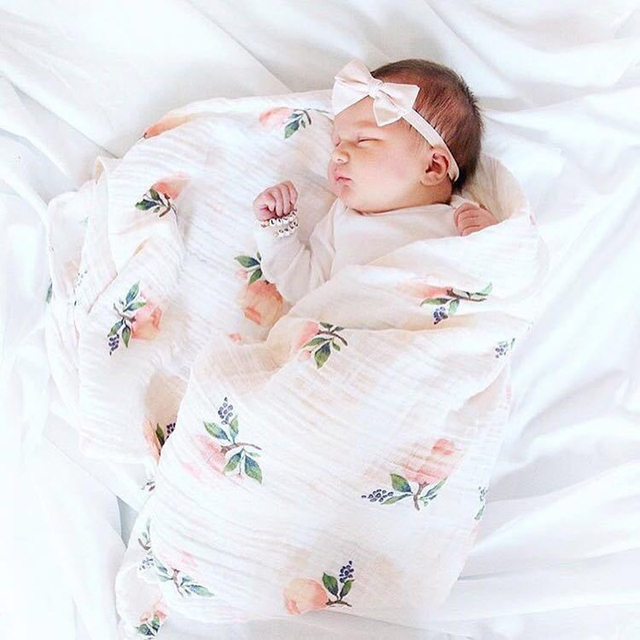 Ins Hot Baby Blanket Newbornswaddle 120x120cm Super Soft