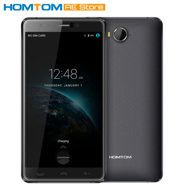 """Original HOMTOM HT10 MTK6797 Deca Core 4G Smartphone Android 6.0 4G+32GB 8MP+21MP Smart Gesture 5.5"""" Mobile Phone"""