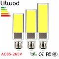 z30 COB LED Bulb 10W 15W 20W E27 LED light lamp 180 degree Corn bulbs White AC85-265V Horizontal Plug Spot downlights